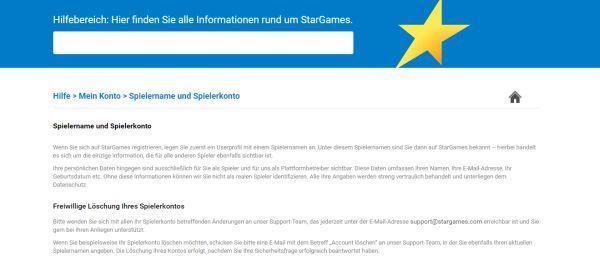 Stargames Geld Weg